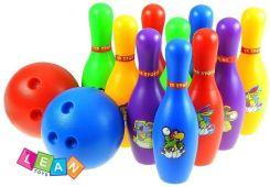 Kolorowy Zestaw Kregli 10 Sztuk 2 Kule Lean Toys Ceny I Opinie Ceneo Pl