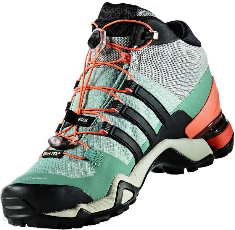 Buty trekkingowe Adidas Terrex Ax2R Szary Zielony Ceny i opinie Ceneo.pl