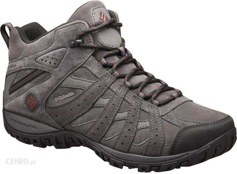 Columbia Redmond Mid Leather Omni-Tech Buty Mężczyźni szary US 10 (EU 43) dc970b3963