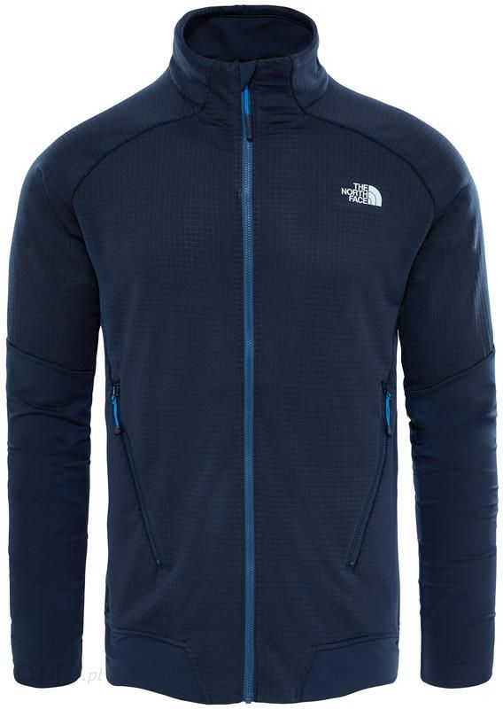 bluza the north face kntan full zip
