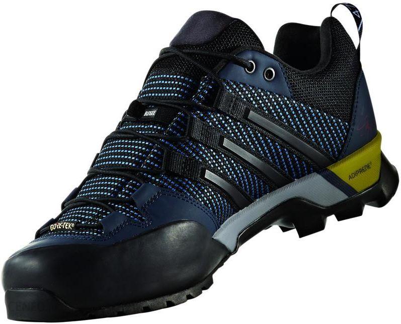 adidas Terrex Scope GTX Buty Mężczyźni niebieskiczarny Buty podejściowe