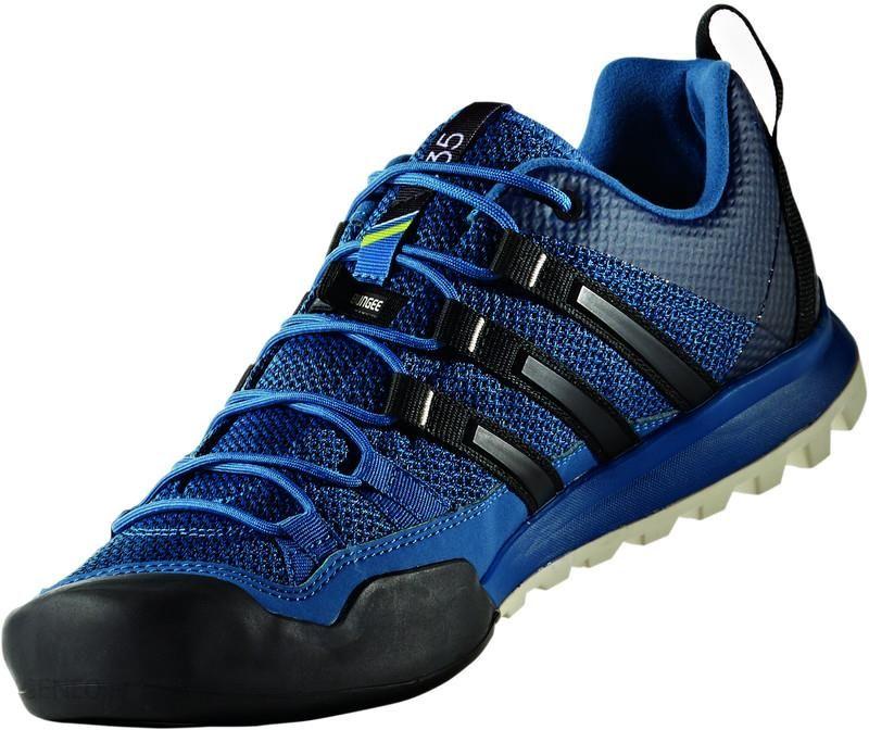 adidas Terrex Solo Buty Mężczyźni niebieskiczarny Buty podejściowe
