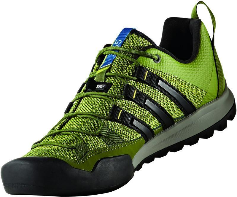 adidas Terrex Solo Buty Mężczyźni zielony Buty podejściowe