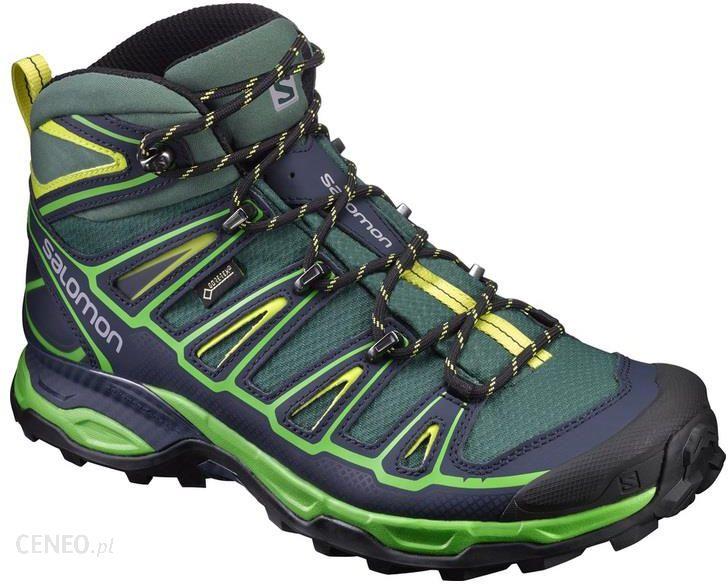 Salomon Quest 4D II GTX Hiking Boots Women's 11 Deep Blue