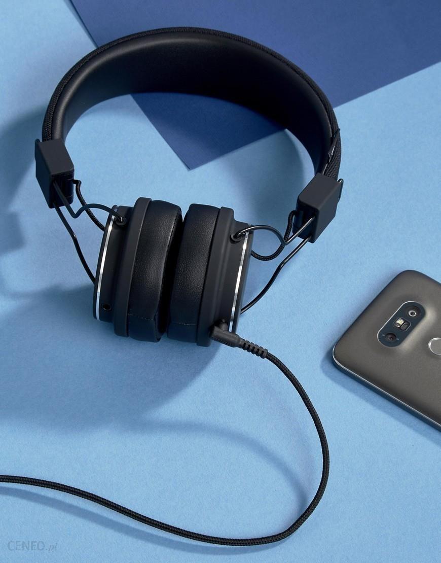 Urbanears Plattan Ii Headphones In Black Snow Blue Zdjcie 1