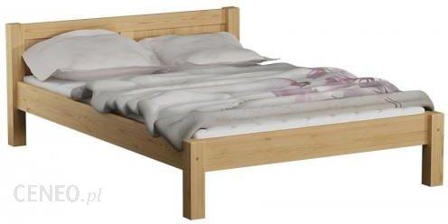 Magnat łóżko Drewniane Wiktoria 140x200 Z Materacem Kieszeniowym
