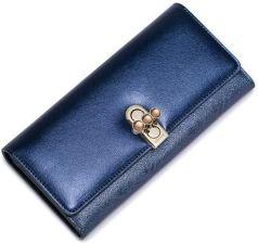 1b53d9530d4df NUCELLE Elektryzujący damski portfel Niebieski - Ceny i opinie ...