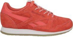 Buty damskie sneakersy Reebok Classic Leather Crepe Sail Away BD3016 CZERWONY