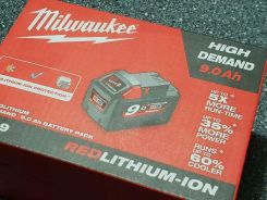 Milwaukee Akumulator 18V 9Ah M18 B9 4932451245