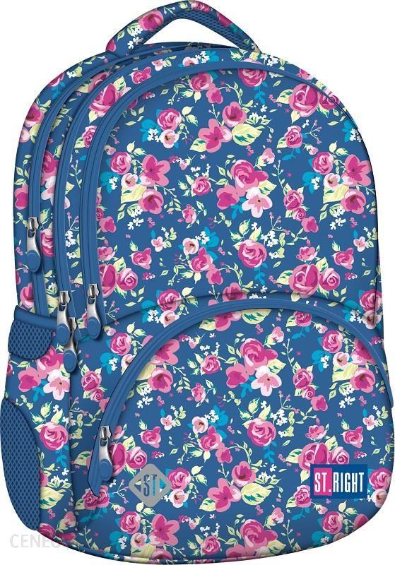 ef4fdae79b1 St.Majewski Plecak Szkolny Stright Flowers Two Bp-07 - Ceny i opinie ...