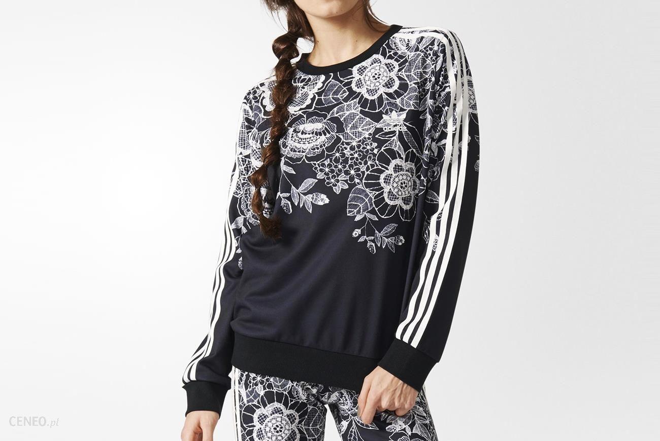 adidas bluza florido sweater