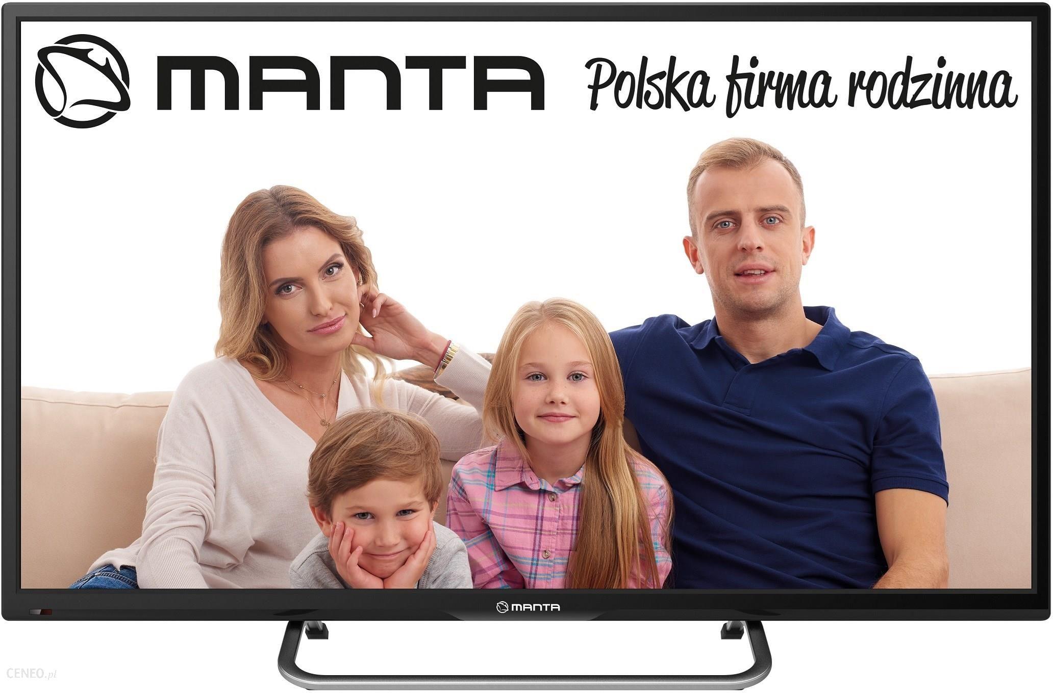 Aktualne Telewizor MANTA LED93206 32 CALE HD Ready 32 cale - Opinie i ceny LE49