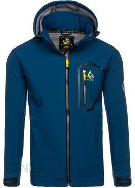 Niebieska kurtka męska przejściowa Denley 004A