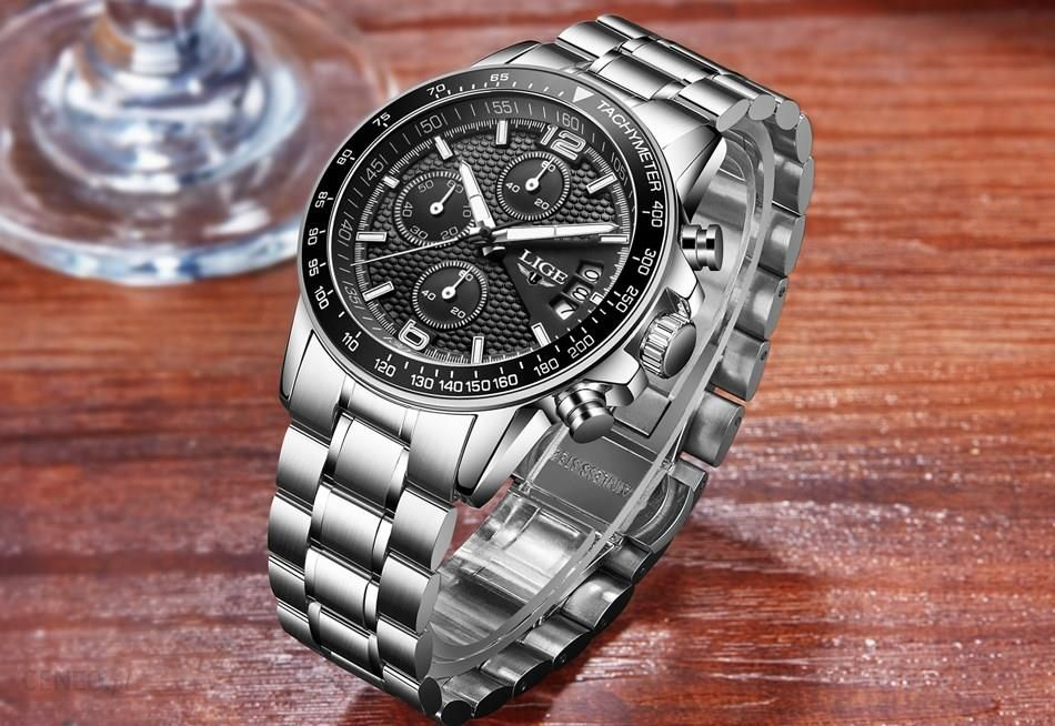 b96311c2c LIGE Watches Men Fashion Brand Multifunction - Aliexpress - zdjęcie 1