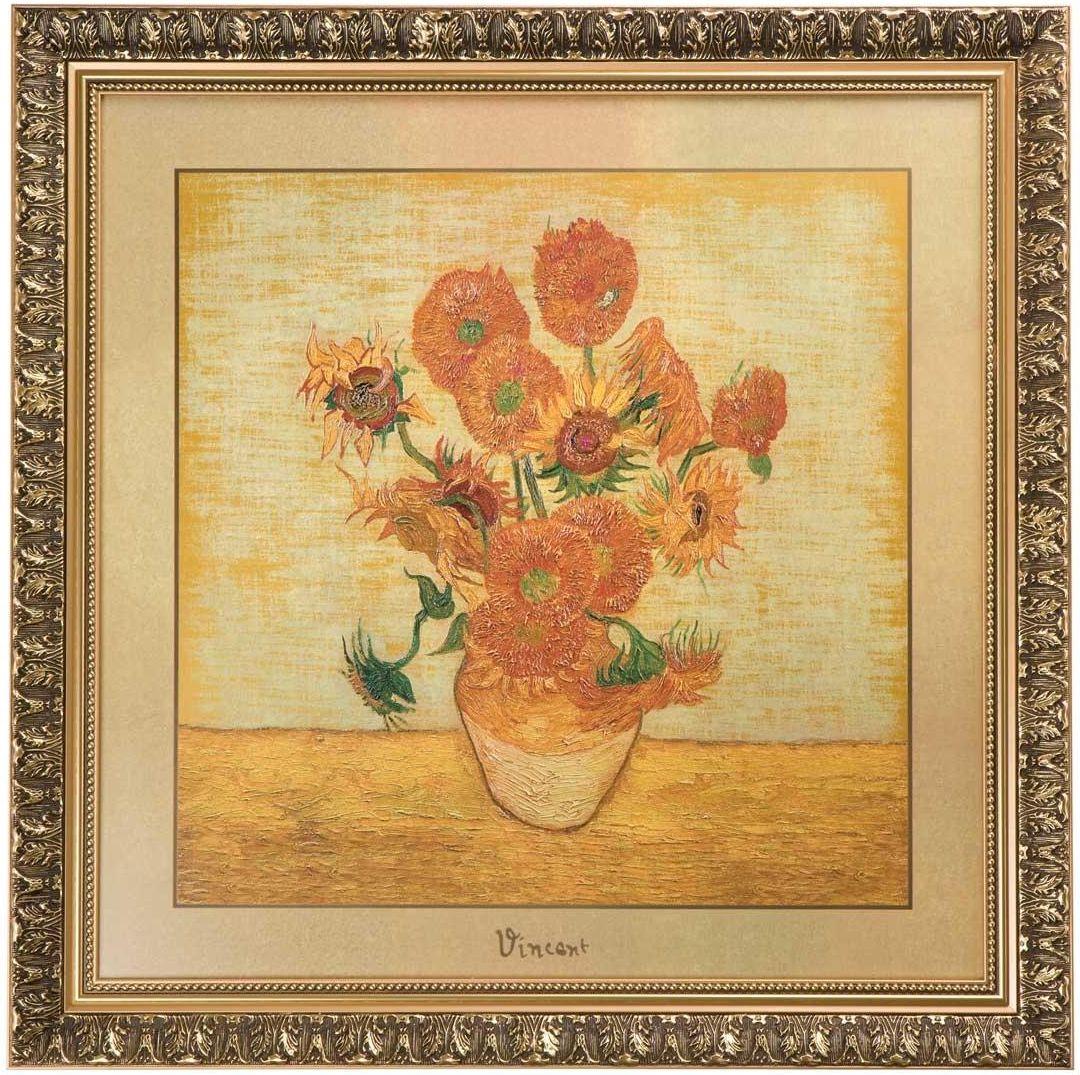 Obraz Słoneczniki 68x68cm Vincent Van Gogh
