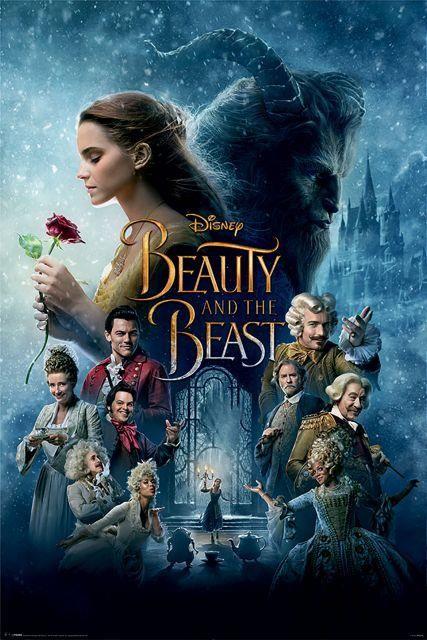 Piękna I Bestia Transformacja Plakat Z Filmu