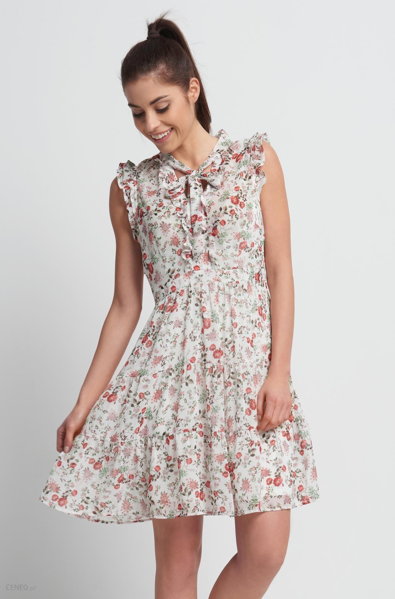 9dacace289 Orsay Zwiewna sukienka w kwiaty - Ceny i opinie - Ceneo.pl