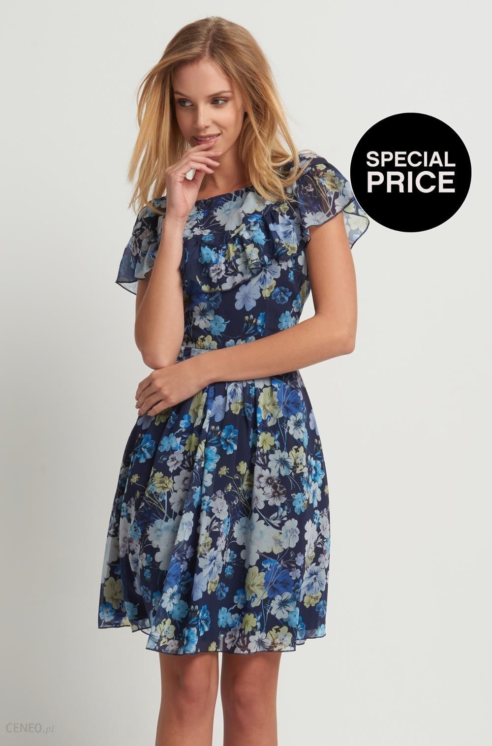b3d1cec053a861 Orsay Szyfonowa sukienka w kwiaty - Ceny i opinie - Ceneo.pl