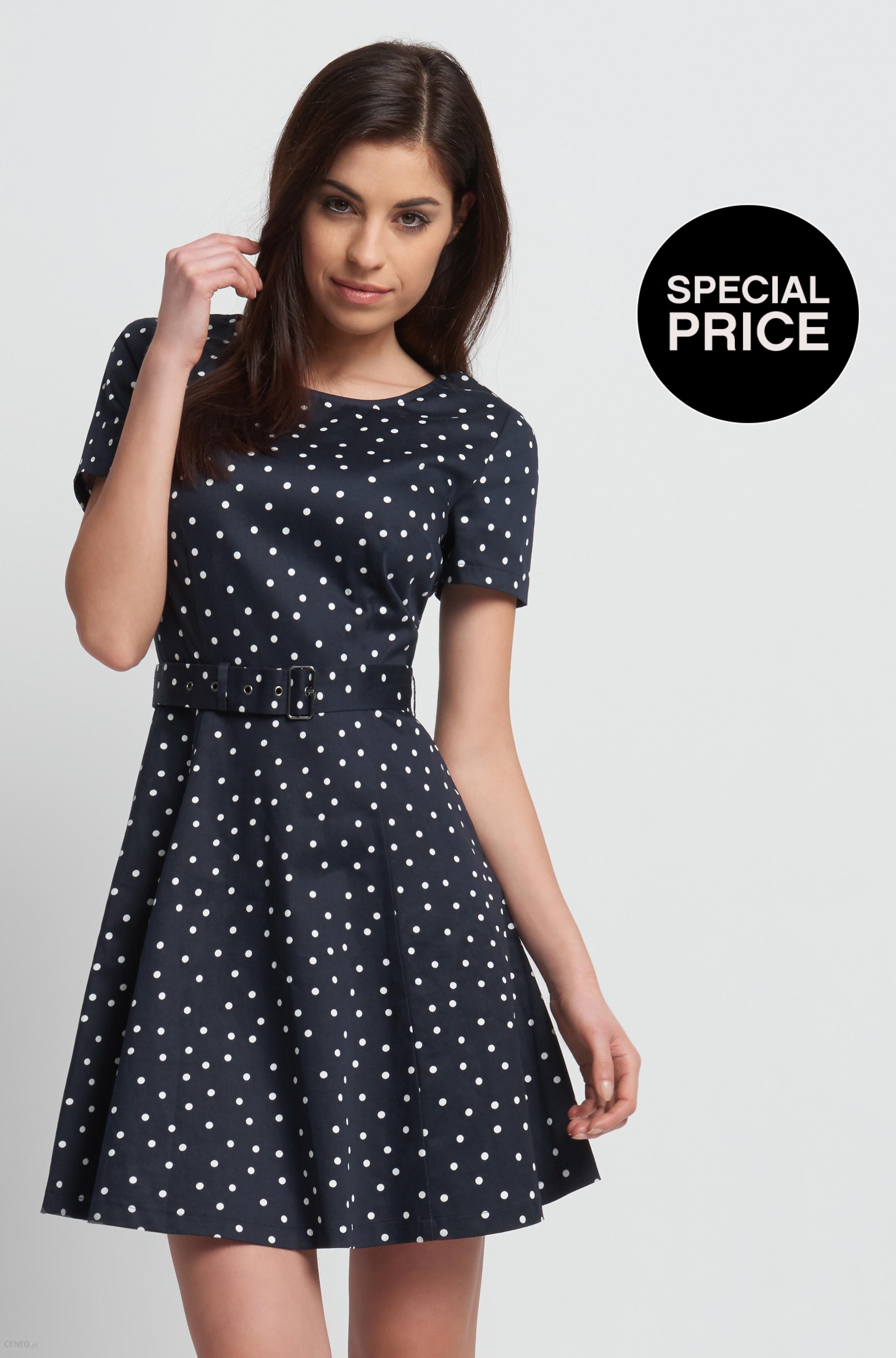 858d7f24ba Orsay Rozkloszowana sukienka w groszki - Ceny i opinie - Ceneo.pl