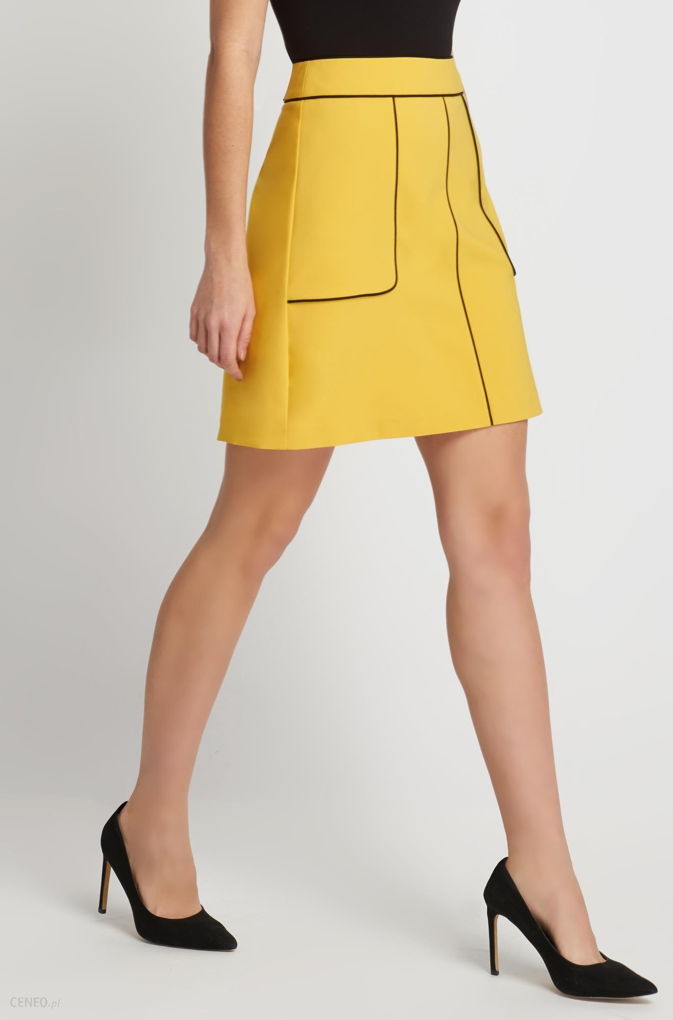 005b610d Orsay Trapezowa mini-spódniczka z lamówkami