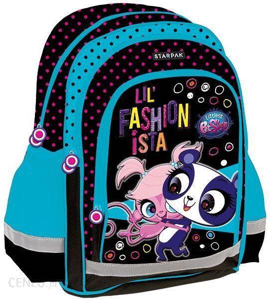 7430e9fd85ddc Starpak Plecak szkolny Littlest Pet Shop 372659 - Ceny i opinie ...