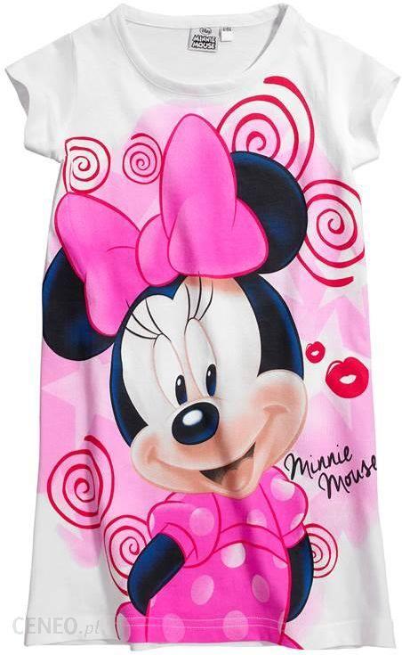 1cb0237423fa26 Disney Minnie Mouse Koszula nocna - biały/we wzory - Ceny i opinie ...