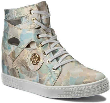 01c1d3307359b Casu 2350 DZ Damskie Sneakersy Białe Skóra Pl r 37 - Ceny i opinie ...