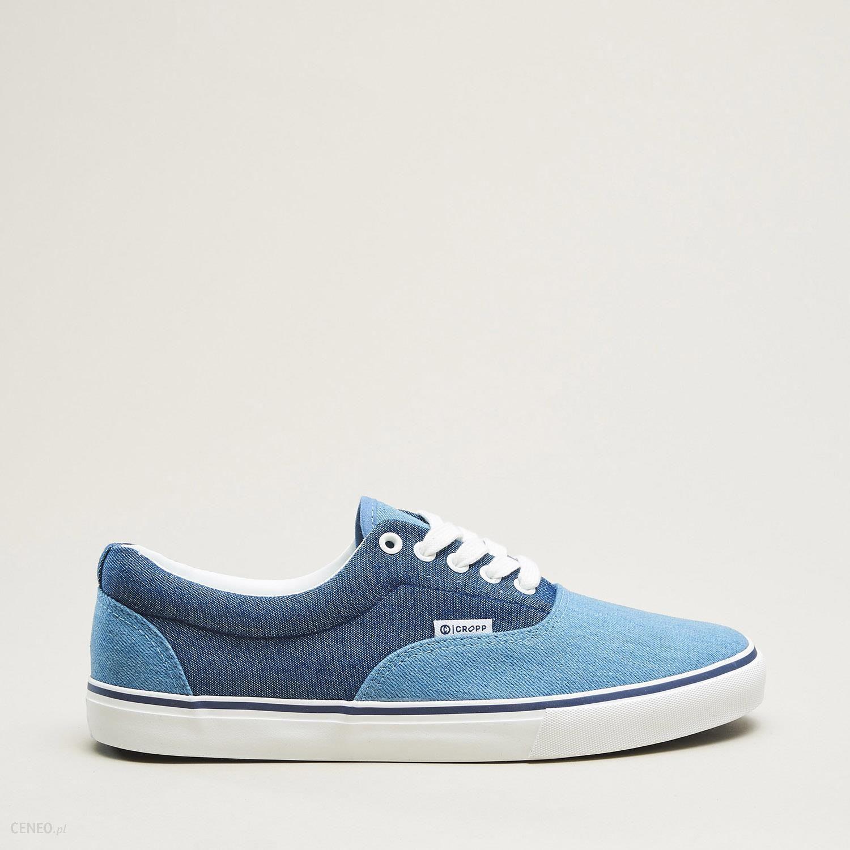 18605299b22f Ceneo Ceny Opinie Męski Niebieski Sneakersy pl Cropp I qAUSn