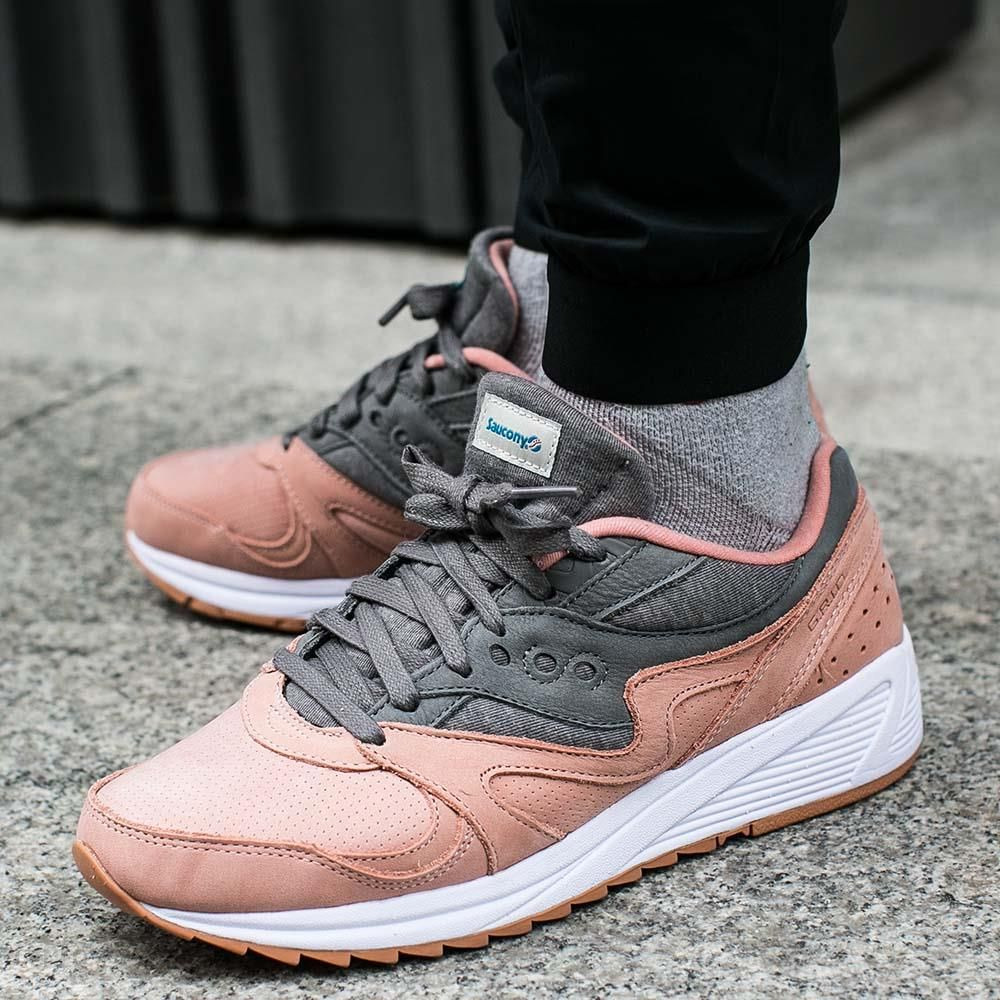 1cfd9472 Buty Saucony Grid 8000 Salmon/Charcoal (S70303-3) - Ceny i opinie ...