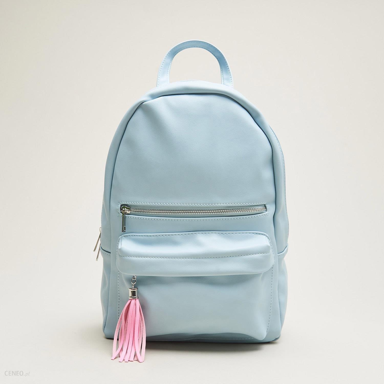 d6486c1064bec Cropp - Plecak w pastelowym kolorze - Niebieski - damski - Ceny i ...