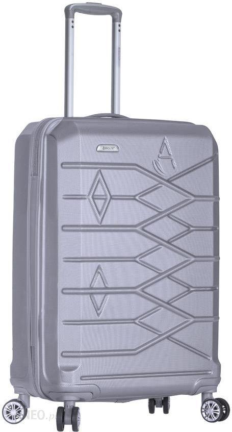 ad7cb26be5c40 REAbags Aerolite walizka T-315/3 S srebrna - Ceny i opinie - Ceneo.pl