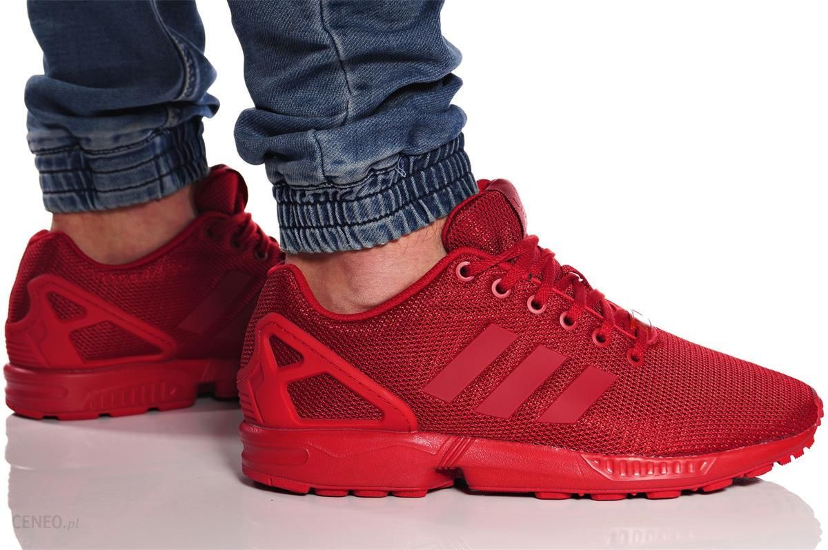 buty adidas zx flux power red s32278
