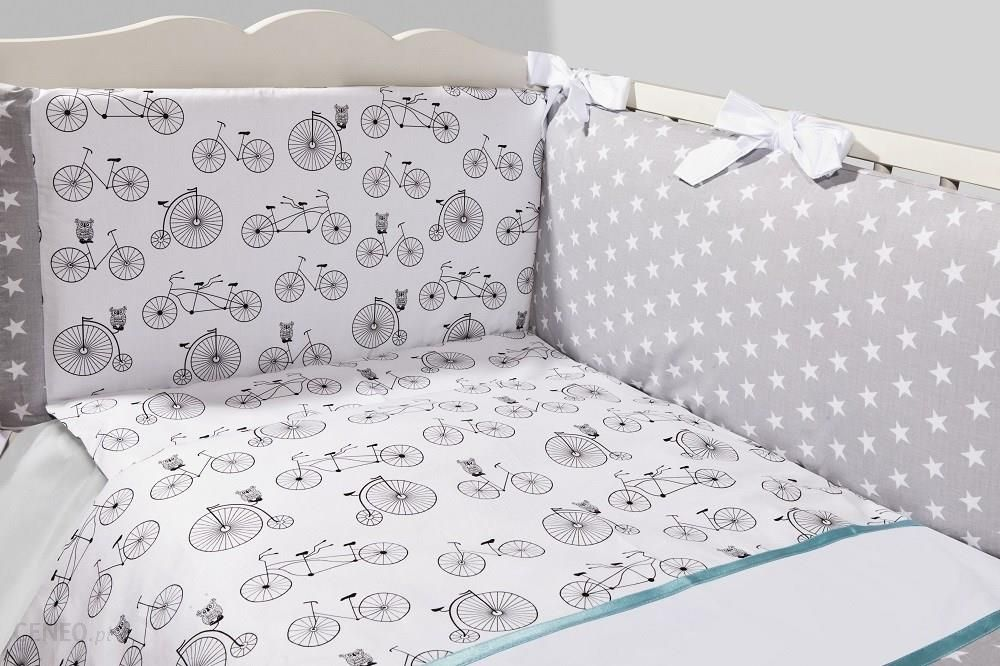 Pościel Dziecięca Do łóżeczka 3 Elementowa Rowerki Ceneopl