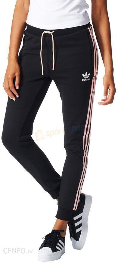 Spodnie damskie Originals Regular TP CUF Adidas (czarne)