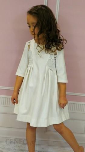 f6fd01130e VOGA Italia elegancka biała sukienka dziewczęca - Ceny i opinie ...