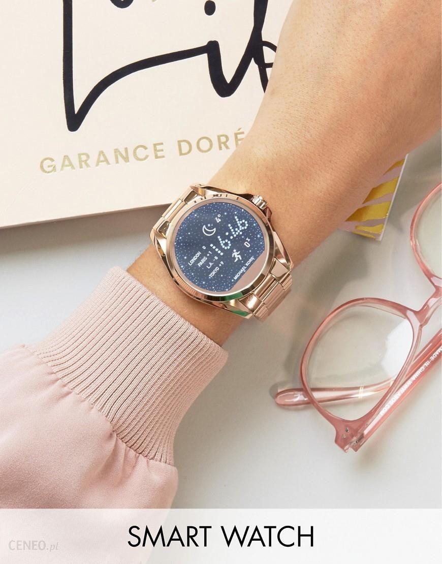 Michael Kors Access Rose Gold Bradshaw Smart Watch Gold