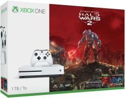 Microsoft Xbox One S 1TB + Halo Wars 2