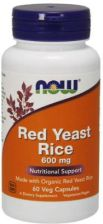 Now Foods Red Yeast Rice czerwony ryż 600mcg 60 kaps.