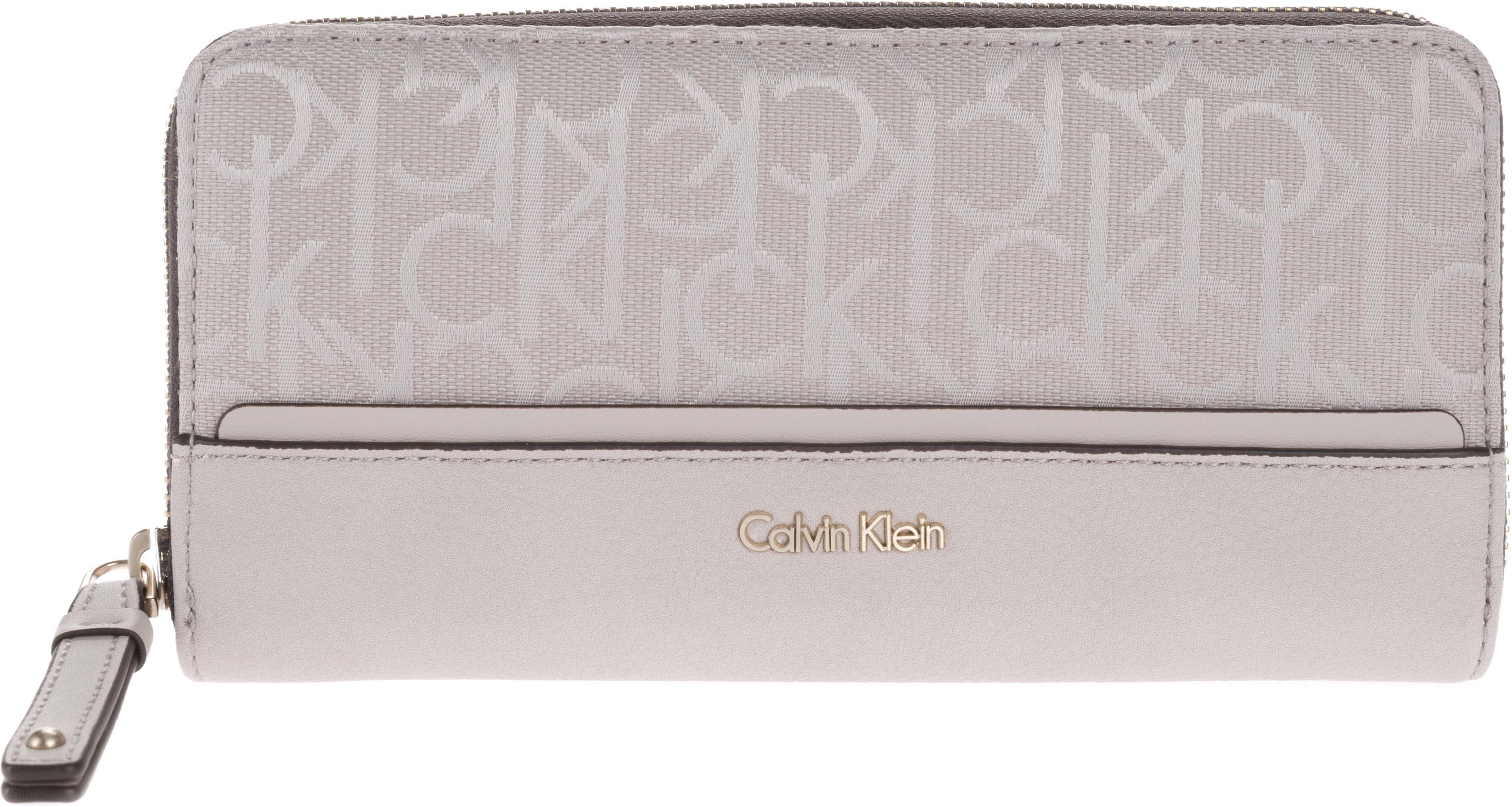 566821b116fa8 Calvin Klein Marina Portfel Różowy Szary UNI - Ceny i opinie - Ceneo.pl
