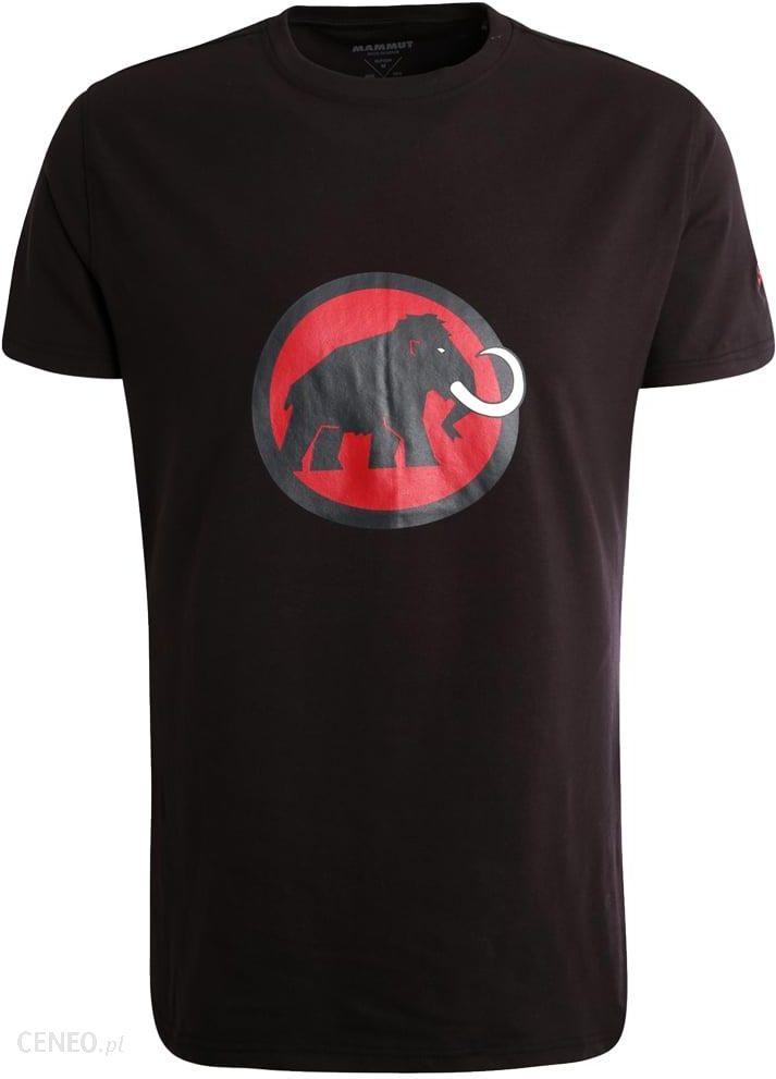 5afc1c1af Mammut Tshirt z nadrukiem black - Ceny i opinie - Ceneo.pl