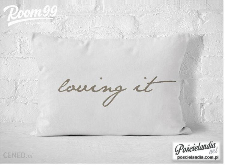 Poszewka Dekoracyjna Biało Beżowa Loving It 50x60 Opinie I