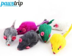 10Pcs/lot Rabbit Fur False Mouse Pet - Aliexpress