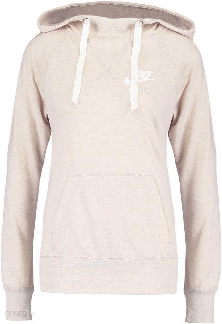 Nike Sportswear Bluza z kapturem oatmealsail