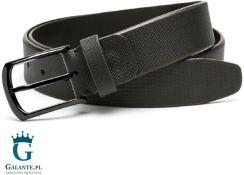 f42b71238be4a Pasek skórzany czarny do spodni jeansów Miguel Bellido 4515-35-0819-09 -