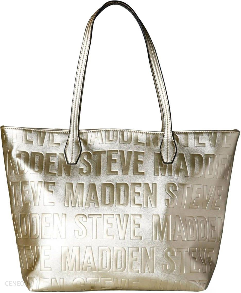 ad6451d4cfb3d TORBA STEVE MADDEN - BREPEAT PU GOLD METALL - Ceny i opinie - Ceneo.pl