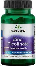 5e244e5c8bd7 Suplement diety Swanson Cynk Zinc Pikolinian 22 mg 60 kaps. - Opinie ...