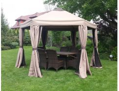 Pawilon ogrodowy namiot duży 3x4 XXL Ceny i opinie Ceneo.pl