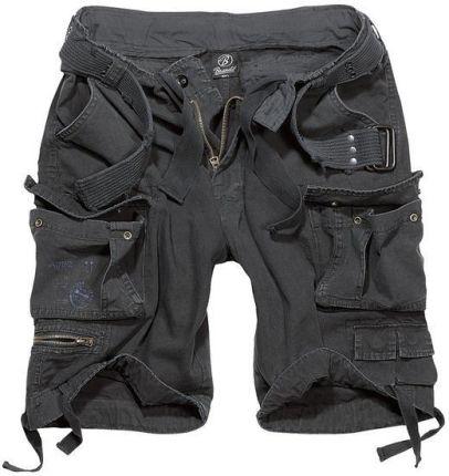 11954a8593f1d6 szorty BRANDIT Savage Vintage Black (2001.2)