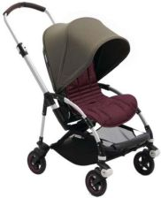 Bugaboo Bee 5 Red Melange Premium-Olive Green Core Spacerowy