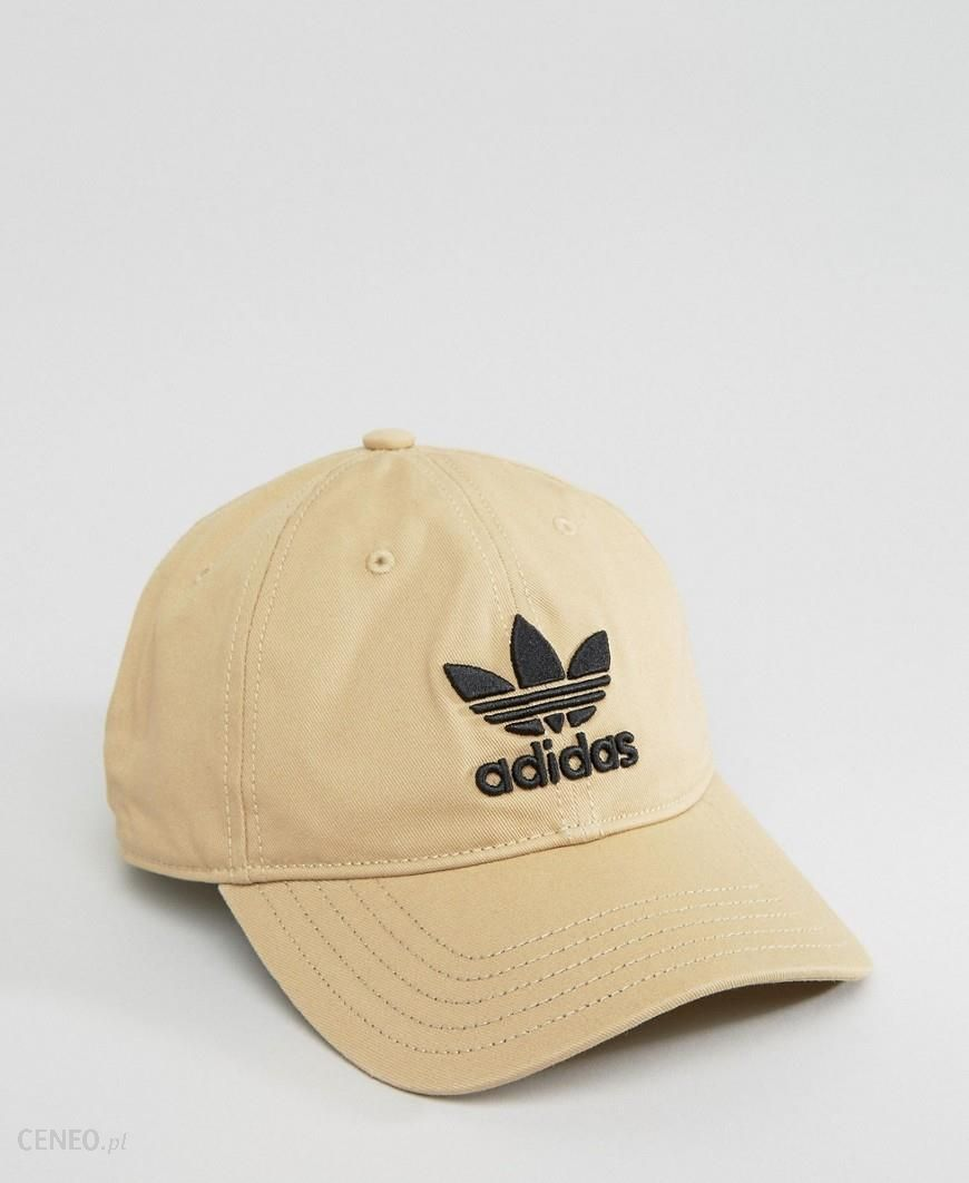 adidas Originals Trefoil Cap In Beige CD8802 Beige